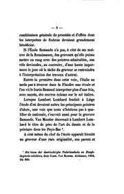 Histoire de la gravure dans l-école de Rubens