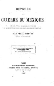 Histoire de la guerre du Mexique