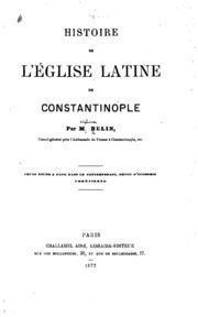 Histoire de l-église latine de Constantinople