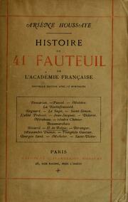 Histoire du 41me fauteuil de l-Académie française