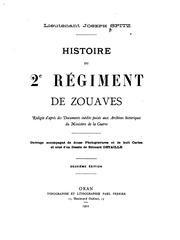 Histoire du 2e Regiment de Zouaves