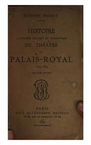 histoire litt raire critique et anecdotique du th atre du palais royal 1784 1884 eug ne. Black Bedroom Furniture Sets. Home Design Ideas