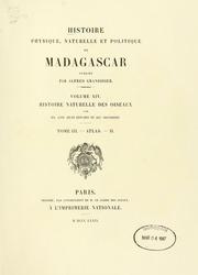 Vol v 14..t..II: Histoire physique, naturelle, et politique de Madagascar