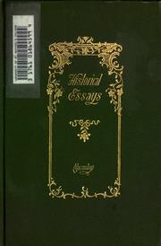 literary essays of thomas babington macaulay macaulay thomas historical essays of thomas babington macaulay