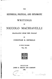 "machiavelli writings ""machiavelli was never the dull, worthy, pedantic author who appears in the  pages of other translations,"" says david wootton in his introduction ""in the pages ."