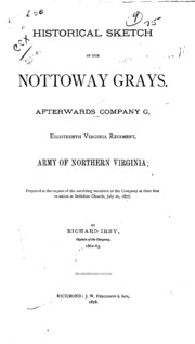 A soldiers story of his regiment 61st georgis and incidentally of historical sketch of the nottoway grays afterwards company g eighteenth virginia regiment army of northern virginia fandeluxe Choice Image