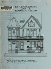 Historic buildings and the lead paint hazard