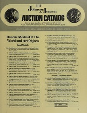 Historic Medals of the World and Art Objects
