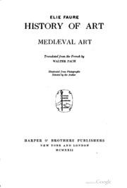 OF FAURE PDF ART HISTORY ELIE