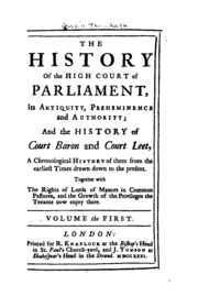 history of parliament dissertation prize