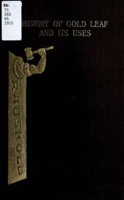 History of gold leaf and its uses