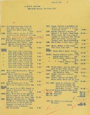 Picture of Johnson (Burdette G.) Client Invoices, 1940-1947
