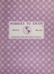 Hobbies to Enjoy: Book No. 27