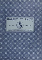 Hobbies to Enjoy: Book No. 29