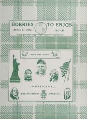 Hobbies to Enjoy: Book No. 31