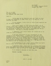 Alfred D. Hoch Correspondence, File 3, 1965-1966