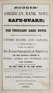 Hodges' American Bank Note Safe-Guard