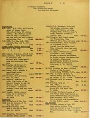 Holger Jorgensen Invoices from B.G. Johnson, January 5, 1940, to November 29, 1940