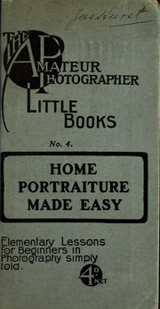 Home portraiture made easy