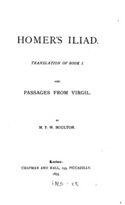 an analysis of homers iliad Analysis over the iliad essays grant, michael the iliad and the heroic ideal readings on homer ed don nardo greenhaven press inc, 1998 many scholars.