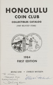 Honolulu Coin Club: Collectibles Catalog