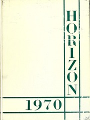 1970 Horizon Yearbook Annual Encinal High School Alameda CA Bev's