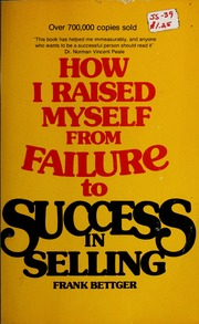 free pdf ebook download How I Raised Myself from Failure to Success - Frank Bettger