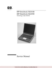 laptop service manuals hp free texts free download borrow and rh archive org HP Laptop Manual HP Pavilion Dv1000 Manual
