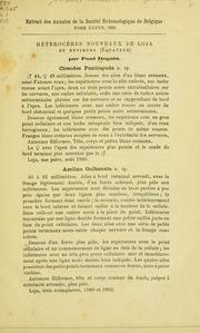 Vol v. 1: Hétérocères nouveaux de l-Amérique du Sud