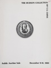 The Hudson Collection of New York Coins