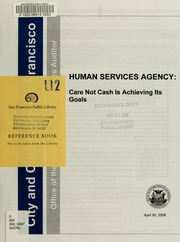 local human service agency summary The umbrella organization for all human service activities state and local cohen promoted the idea of a one agency strategic plan that would.