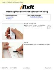 ipod shuffle 2nd generation manual