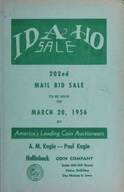 Idaho Sale: 202nd Mail Bid Sale