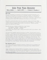 Idaho Trade Token Newsletter: Vol. 1, No. 4, April 1997