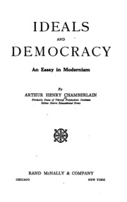 the ideal democracy essay Liberal democracy and francis fukuyama essay  essay is democracy a precondition for development  it refers to the ideal form of state, and is common to both.