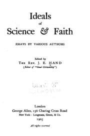 science and faith essays Essays science vs faith science vs faith faith in science with increasing scientific breakthrough due to better technology.