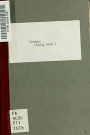 iliad notes essay
