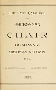 Illustrated Catalogue Of The Sheboygan Chair Company. : Sheboygan Chair Co.  : Free Download U0026amp; Streaming : Internet Archive