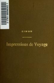 Vol pt.1: Impressions de voyage