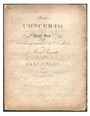 Piano Concerto No 1, Op 4 : Klengel, August Alexander : Free