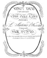 20 Duets : Punto, Giovanni : Free Download, Borrow, and Streaming