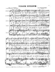 Salut pour les double majeur et mineur, Op.5