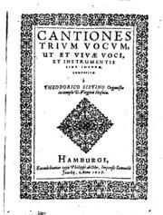 Cantiones trium vocum : Aagesen, Truid : Free Download, Borrow ...