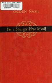 i m a stranger here myself pdf