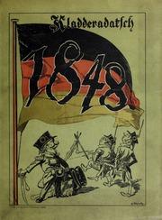 Im tollen Jahr : erster Jahrgang des Kladderadatsch 1848