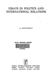 collaboration discord essay international politics 1 discord and collaboration 1945-1949 essays in international politics, (baltimore: the johns hopkins press, 1967) for the title of this chapter.