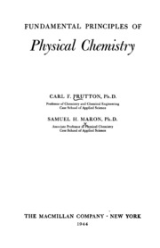 Fundamental principles of physical chemistry maron samuel h fundamental principles of physical chemistry fandeluxe Images
