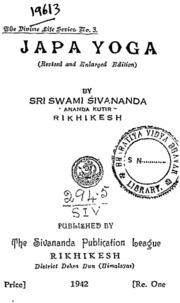 Yoga pdf japa sivananda