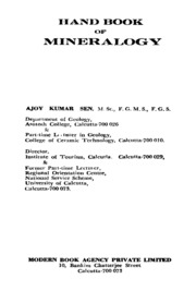 handbook of mineralogy free download pdf