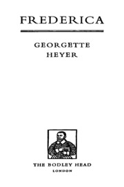 Frederica : Heyer, Georgette : Free Download, Borrow, and Streaming